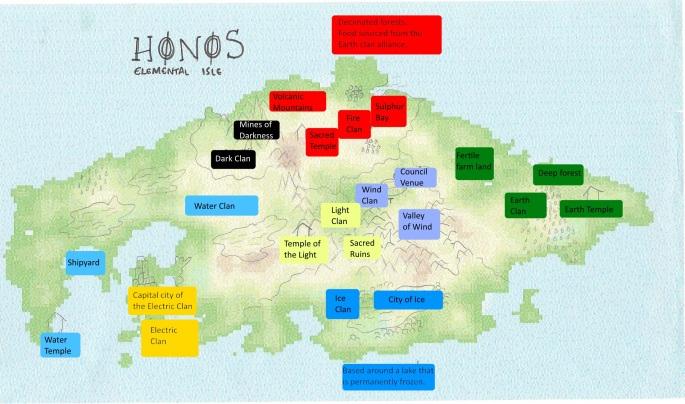 Honos Map